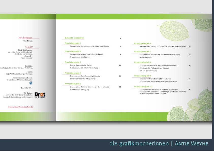 Gestaltung von Broschüren und Flyern in Herrenberg