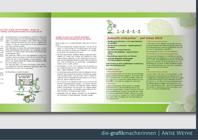 Gestaltung von Broschüren und Flyern in Tübingen