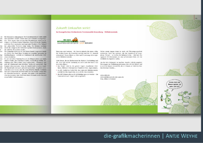 Gestaltung von Broschüren und Flyern in Rottenburg