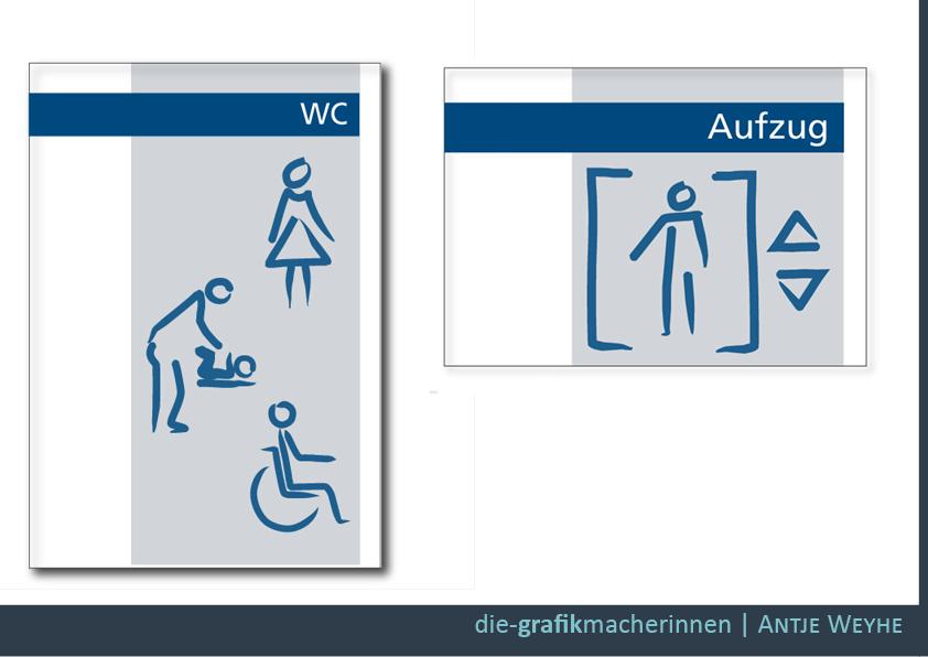 Schilder gestalten in Tübingen