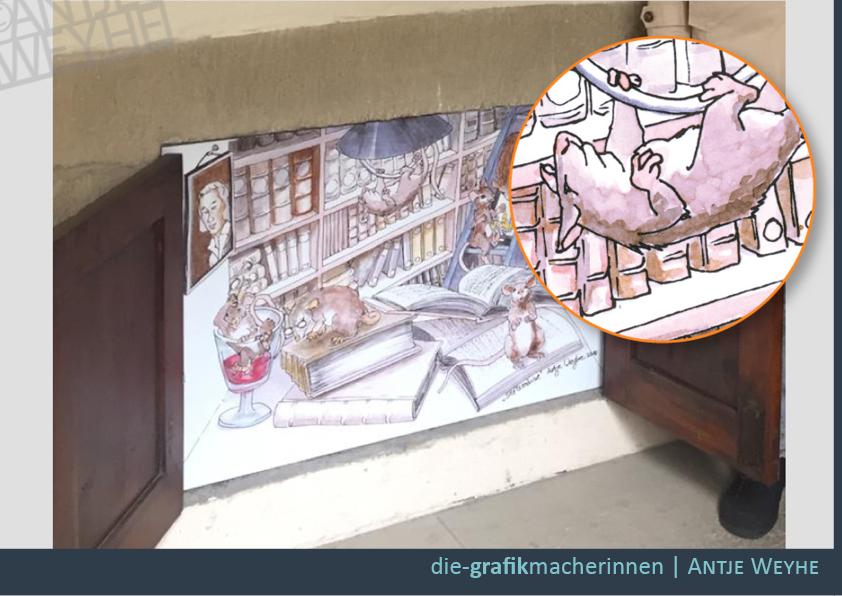 Handgezeichnete Illustrationen von Grafiker in Tübingen
