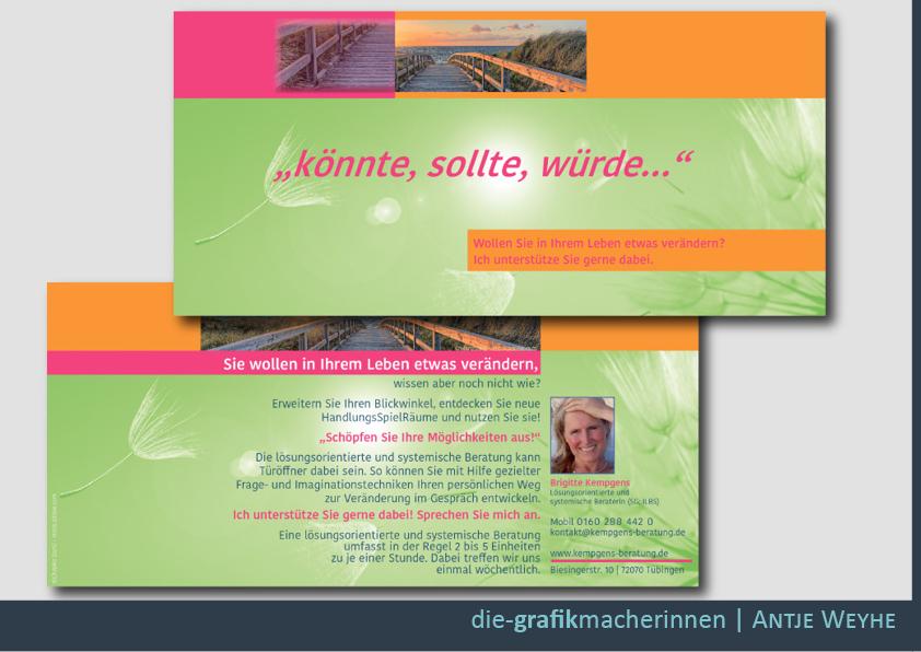 Imageflyer und Geschäfts Flyer in Tübingen erstellen lassen